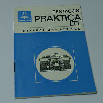 Pentacon PRAKTICA LTL Instruction Manual