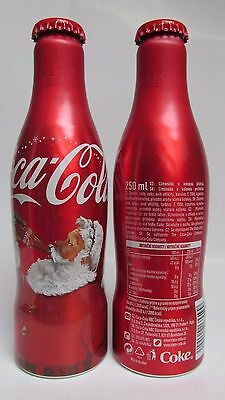 Coca-Cola Christmas Czech Limited Edition Aluminium Bottle 250 ml-2pcs