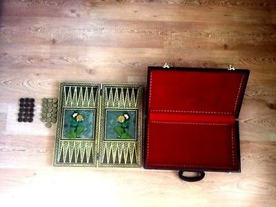 Antique Backgammon Chess 6250 Gr Mid 1800's Ottoman Perfect Condition Hand Made