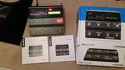 tc electronic nova system boxed with instructions