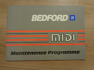 Bedford Service History Book