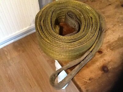 Tow strap rope sling recovery ,mitusbishi suzuki land rover defender 4x4 boat