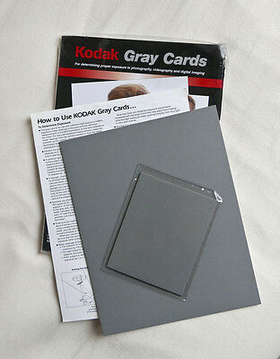 Kodak Gray cards