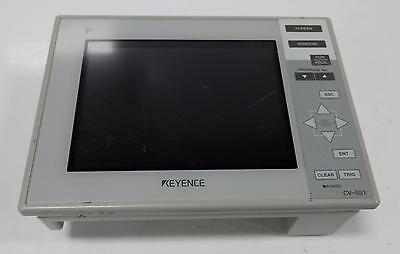 KEYENCE CV-751 INTERFACE DISPLAY PANEL  GREAT USED CONDITION TESTED!
