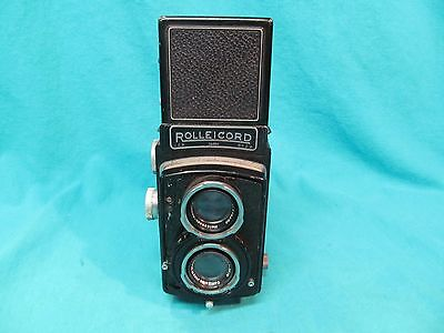 ROLLEICORD II MODEL 5 TLR CAMERA SERIAL #961398 ZEISS TRIOTAR 75mm 7.5cm  f3.5