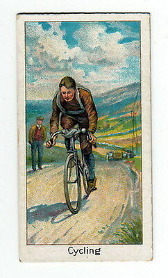 1925 Bicycle Racing Card HARRY GREEN Cyling Champion