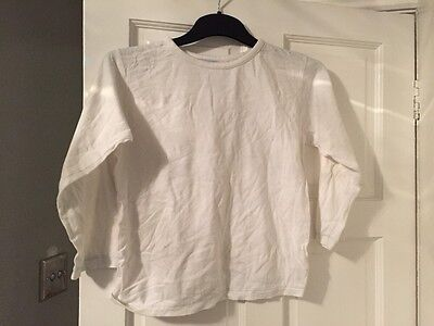 Boys Rebel Long Sleeve Top 6-7 Yrs Excellent Condition