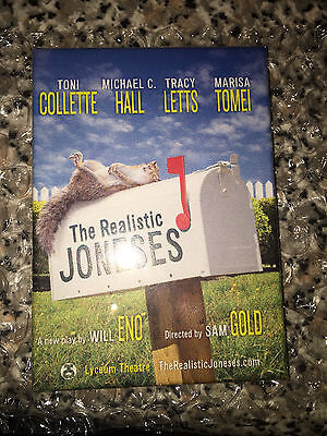 The Realistic Joneses Broadway magnet - Toni Collette, Marisa Tomei