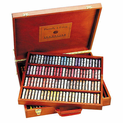 Sennelier Soft Pastels - Professional Artists - 175 The Traditional Wooden Box