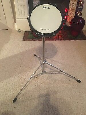 """PDP1511 Dixon Tunable, Adjustable 8"""" Drum Practice Pad (Barely Used) RRP £50"""