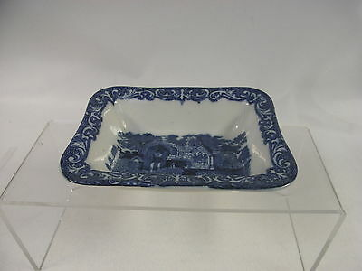 Antique George Jones Pottery Shredded Wheat Dish with Slight Damage