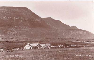 RP FOULA ISLAND THE HILLS  SHETLAND SCOTTISH ISLES RATTAR R PHOTO c1934
