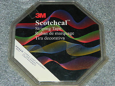 "NEW ROLL OF 3M SCOTCHCAL 72410 PIN STRIPING TAPE BURGUNDY 1/2"" INCH x 150' FOOT"
