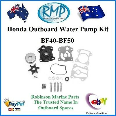 A Brand New Water Pump Kit Suits Honda Outboards BF40- BF50  # 06193-ZV5-020