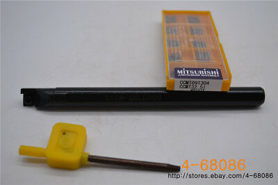 S12M-SCLCL09 Internal Turning Tool 10pcs CCMT09T304-HM CCMT3(2.5)1 YBC251