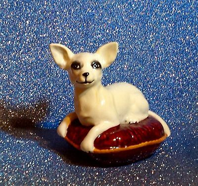 Beswick Chihuahua On Cushion
