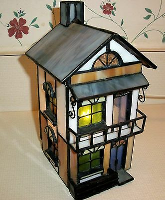 Tiffany Stained Glass House --Unusual Detail