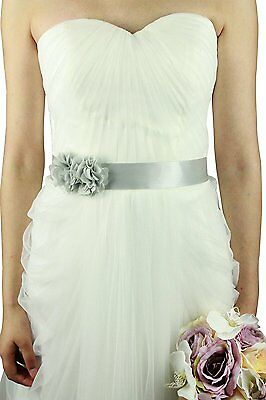 Belts/sashes for Wedding/party/bridal Dress silver