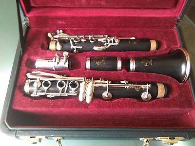1966 Buffet Crampon R13 B Flat Clarinet In Excellent Condition-Fully Serviced