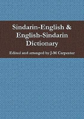 Sindarin Dictionary by J-M Carpenter (Paperback, 2013)