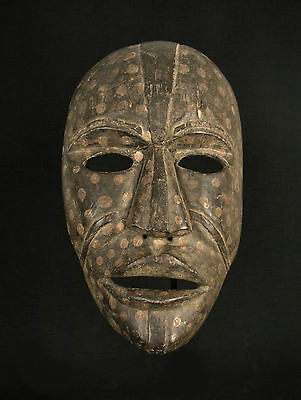 Authentic Large African Woyo Mask, Very Scarce