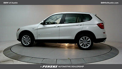2017 BMW X3 sDrive28i Sports Activity Vehicle sDrive28i Sports Activity Vehicle 4 dr Automatic Gasoline 2.0L 4 Cyl Mineral Whi