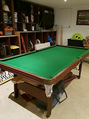 Pool Snooker Table with All Accessories (excellent condition)