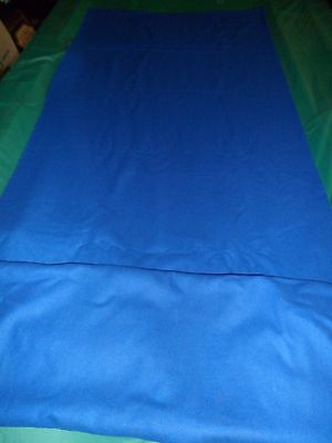Blue Double Sided Wool Cloth for Snooker,Pool,Billiard Table to fit 7ft Freepost