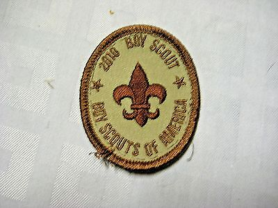 BSA Centennial Boy Scout 1st Scout Rank Patch - BSA Official Uniform Patch 1