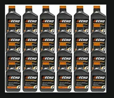 6450002 (24) Echo 2 Gallon Power Blend Xtended Life Oil Gas Mix 2 Stroke Cycle