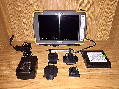 Topcon FC-5000 Standard Data Collector Windows 10 Rugged Tablet Survey Sokkia