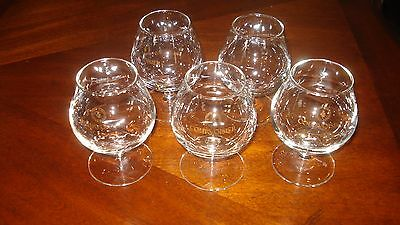 Mini Brandy Snifters Cognac Glasses Courvoisier The Brandy Of Napoleon 5 3oz stm