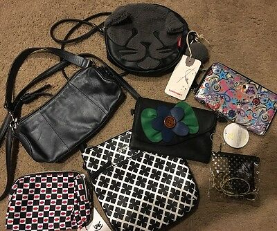 Lot Of Small Purses/clutches & Wallets/makeup Bags  New& Used