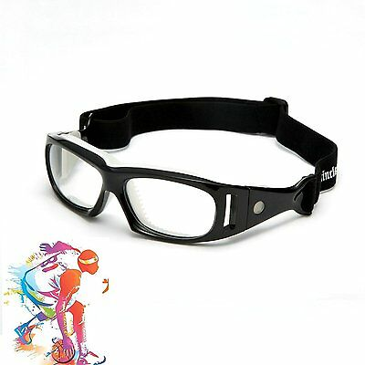 Mincl Basketball Sports Glasses Football Perfect Personality Goggles Black-yhl