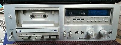 Vintage Pioneer CT-F750 Stereo Cassette Tape Player AS IS #2