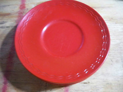 """Texas Ware Rio Vista 6"""" plates 7 total made by PMC"""