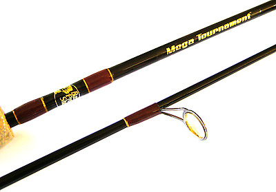 Bass Pro Shops Mega Tournament Fishing Rod 2 Piece IM-7 Graphite 2-6kg BREAM