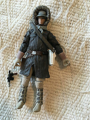 Star Wars The Vintage Collection Hoth Han Solo 3 3/4 Inch Action Figure