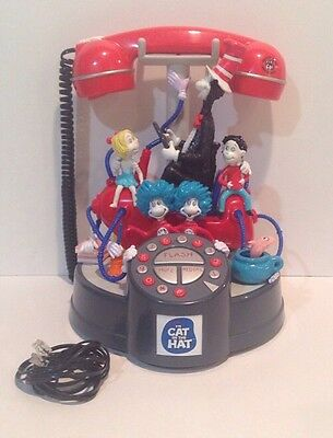 Official Cat In The Hat Movie Merchandise 3-D Telephone