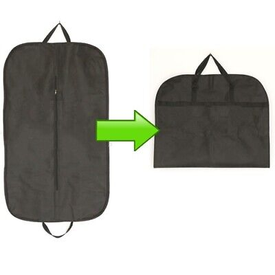 1 - 8 SUIT COVER BAGS Jacket Garment Storage Coat Protector Clothes Dress Cover