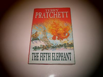 The Fifth Elephant By Terry Pratchett 1St Edition Signed With Personal Note.