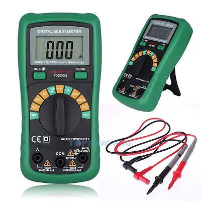 Auto Range Digital Multimeter AC DC Frequency Resistance Tester