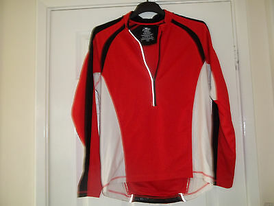 MENS LONG SLEEVED CYCLING TOP SIZEM (36-40 ) nwot