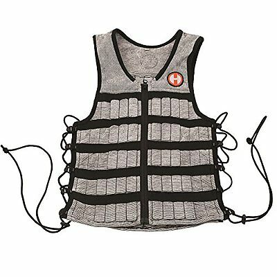 Hyper Vest Adjustable Weighted Fitness Workouts Training Equipment Unisex 10 lbs