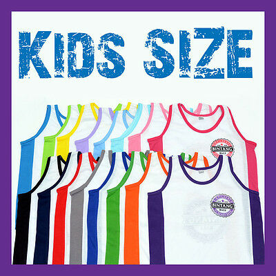 Bintang Bali Beer Singlet Tops For Kids Children Boys Girls