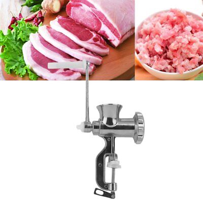 Heavy Duty Meat Mincer Grinder Manual Hand Operated Meat Sausage Maker UK