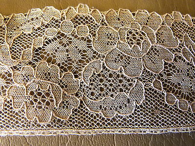 Rare Vintage EnglishCollectable doll Lace 100% cotton 4yards
