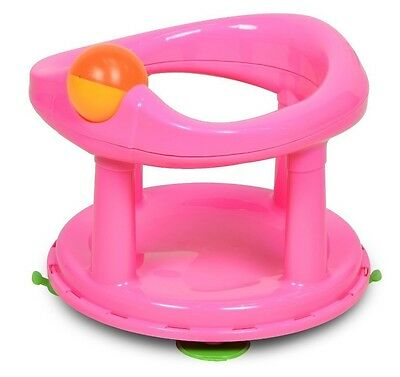 Safety 1st Baby Bath Support Swivel Bath Seat - Pink