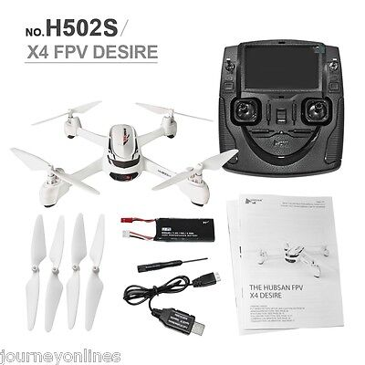 Hubsan X4 H502S 5.8G FPV  GPS Altitude Mode RC-Quadcopter with 720P Camera