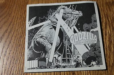 Godzilla King of Monsters Viewmaster Booklet